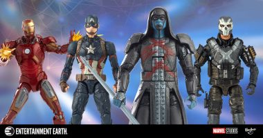 Exclusive Toy Fair New York Reveals: New Hasbro Marvel Cinematic Universe 10th Anniversary Figures
