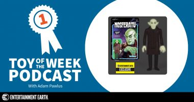 Toy of the Week Podcast: Glow in the Dark ReAction Nosferatu