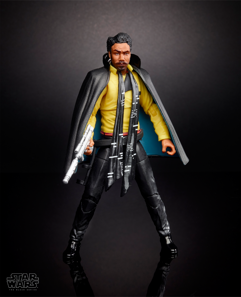 Lando Hasbro 6-inch Black Series Figures