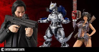 New Toys and Collectibles: Evil Dead, MAFEX Action Figures, Mechagodzilla, Iron Man, and More!