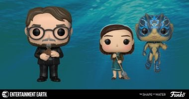 Guillermo De Toro and His The Shape of Water Characters Get the Funko Treatment