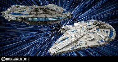 Build the Millennium Falcon – Factory Fresh!