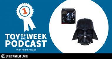 Toy of the Week Podcast: Star Wars The Black Series Darth Vader Helmet