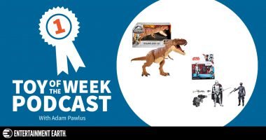 Toy of the Week Podcast: Jurassic World Super Colossal T-Rex and Star Wars Exclusive
