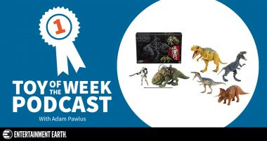Toy of the Week Podcast: Star Wars Dewback and Jurassic World Roarivores Case