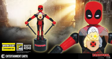 Deadpool Push Puppet Convention Exclusive Plus Deadpool Creator Rob Liefeld Signing at San Diego Comic-Con