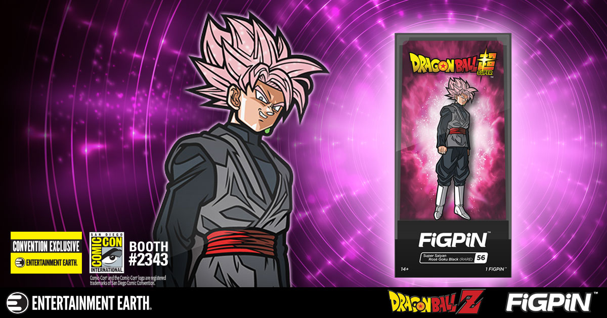 Dragon Ball Super Super Saiyan Rose Goku Black FiGPiN Enamel Pin