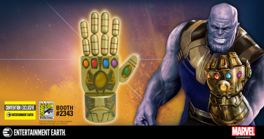 An Infinity Gauntlet Exclusive Fit for a Titan Available at San Diego Comic-Con