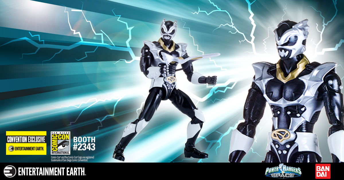 exclusive psycho silver ranger action figure makes an appearance at san diego comic con exclusive psycho silver ranger action