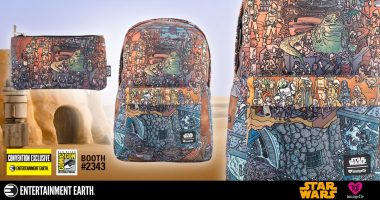 How Many Different Star Wars Aliens and Creatures Can You Spot on This Convention Exclusive Backpack and Pencil Case Set?