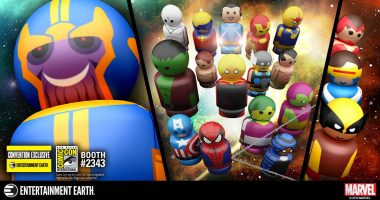 First Look: Epic New Infinity Gauntlet and Marvel Mutants Pin Mate™ Sets Make Their Debut at San Diego Comic-Con!