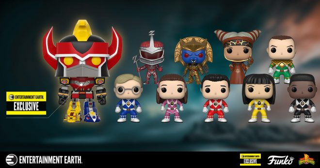 69fabf959c3 Morph Your Funko Pop! Collection With New Power Rangers Figures Plus an  Entertainment Earth Exclusive