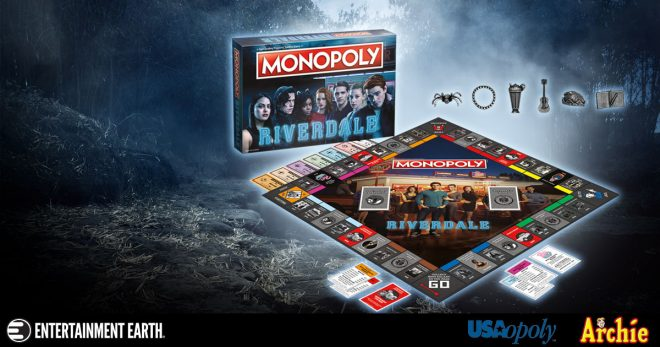 Archive Meets Real Estate In Riverdale Monopoly