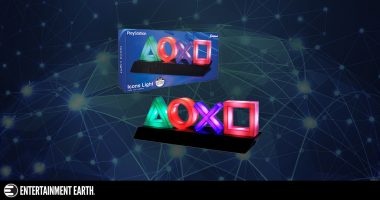 PlayStation Button Icon Lights – Perfect for Game Rooms