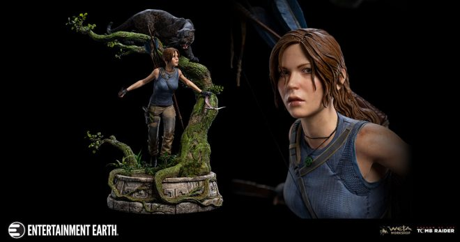 WETA's Stunning Shadow of the Tomb Raider Statue Will Thrill You