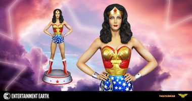 A Wonder Woman Statue That'll Make You Spin with Delight