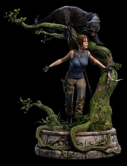 Shadow of the Tomb Raider: Lara Croft 1:4 Scale Statue