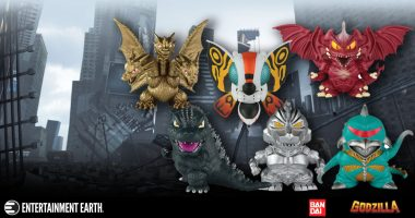 Adorable Godzilla Figures from Bandai