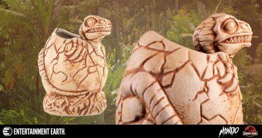 This Baby Raptor Is Actually a Tiki Mug