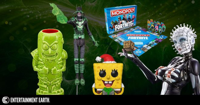 New Toys and Collectibles: Rick and Morty, Fortnite, DC Comics, and More!