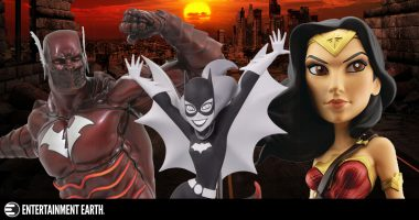 New Toys and Collectibles: Wonder Woman, Batgirl, Red Death, and More!