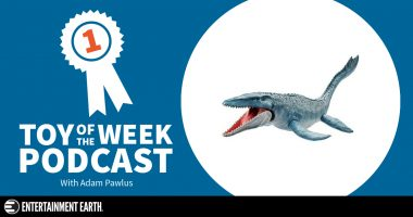 Toy of the Week Podcast: Jurassic World Real Feel Skin Mosasaurus Figure