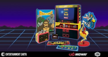 Classic Midway Arcade Collectibles in a Box
