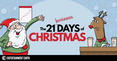 Entertainment Earth Celebrates The 21 Business Days of Christmas
