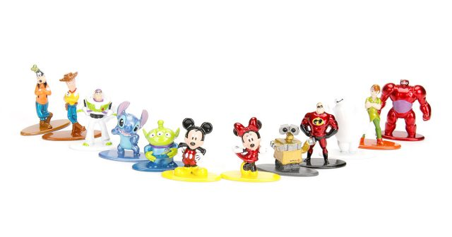 Jada Toys Disney Die-Cast Metal Figures