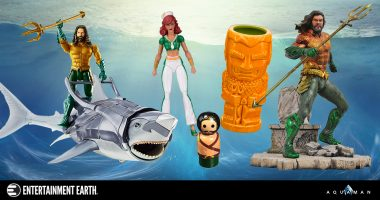 Bring the Battle for Atlantis Home with the Best Aquaman Collectibles
