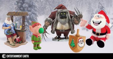 Have You Seen These 5 Weird Santa-Themed Toys?