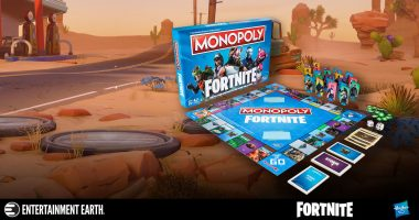 Roll with Fortnite Monopoly!