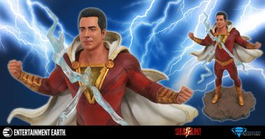 Shazam! New Statue from This Year's Exciting DC Movie