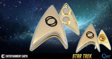 Science! At the Disco! Starfleet Badge and Pin Set