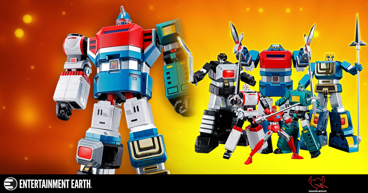 Awesome Combiner Robot from Japan!