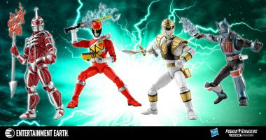 First Look and Pre-Order of Hasbro Power Rangers Lightning Collection