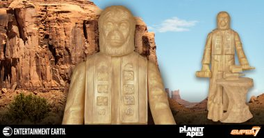 The Lawgiver Statue - Planet of the Apes ReAction Figure