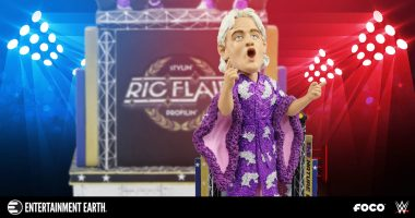 Here's Why You'll Be Stylin' and Profilin' with the FOCO WWE Ric Flair Bobble Head