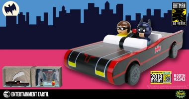 Will the Pin Mates Batmobile™, Batman & Robin and Batcave Be Racing into Your Collection at San Diego Comic-Con 2019?
