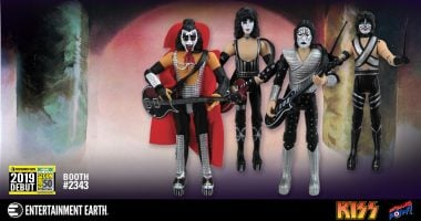 Pull the Trigger on Adding These SDCC Debut KISS Figures to Your Collection