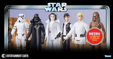 Recapture Your Earliest Star Wars Excitement with These Exclusive Action Figures