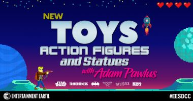 Entertainment Earth to Reveal Dozens of New Toys, Action Figures, and Collectibles at San Diego Comic-Con 2019!