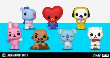 BTS BT21 Funko Pop!s