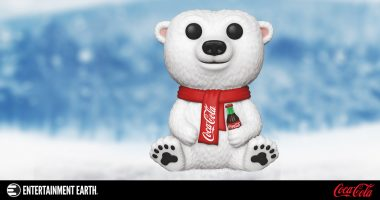 "It's ""Always Cool, Always Coca-Cola"" with This Coca-Cola Polar Bear Pop! Vinyl Figure"