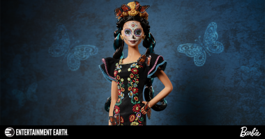 Celebrate the Day of the Dead with the Día de los Muertos Barbie Signature Doll!