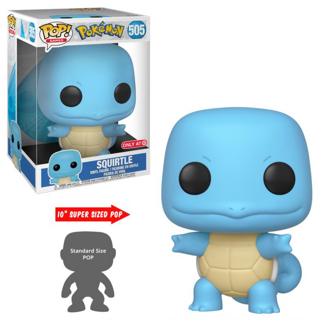 Pokémon Squirtle 10-Inch Pop! Vinyl Figure #505 - NYCC Debut