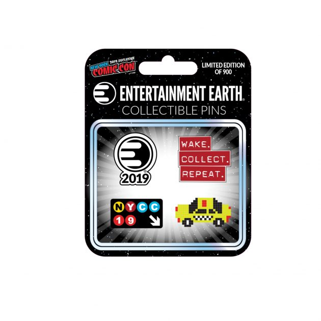 Entertainment Earth Enamel Pin Set of 4 - NYCC Exclusive