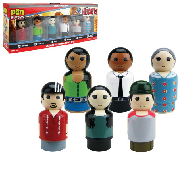"<a href=""https://www.entertainmentearth.com/product/EE26804"">In the Heights Pin Mates Wooden Collectibles Set of 6 - NYCC Debut</a>"