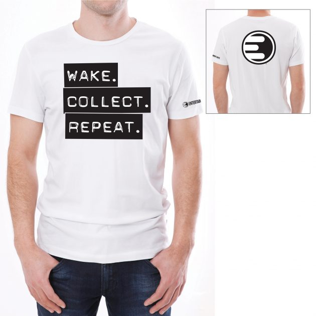 Entertainment Earth Wake. Collect. Repeat. T-Shirt - NYCC Exclusive