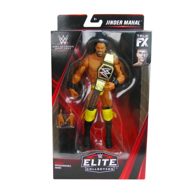 WWE Network Spotlight Elite Collection Jinder Mahal Action Figure - NYCC Debut